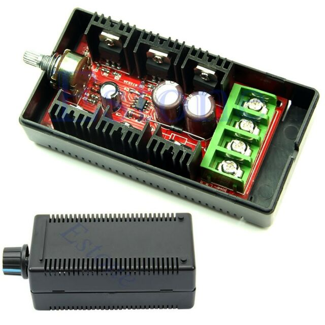 10-50V DC 30A Motor SpeedControl Max 40A 50V 1500W PWM HHO RC Controller