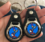 BLUE ROAD RUNNER PLYMOUTH KEYCHAIN SET 2 PACK