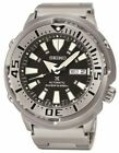 Seiko Prospex Men's Black Watch - SRP637