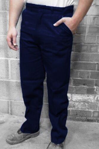"""34/"""" waist 30/"""" leg  NAVY BLUE TROUSERS"""