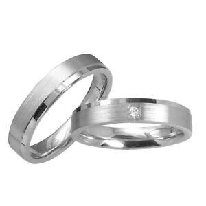 2 Trauringe Silber 925 Mit Gravur+etui Eheringe Verlobungsringe Ringe Pr13t Noch Nicht VulgäR