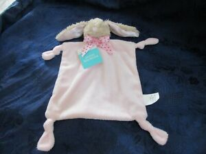 Dan-Dee-collectors-choice-Easter-Blankie-Pink-Bunny-Rabbit-Lovey-baby-blanket