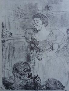 bb233512b6d ... TOULOUSE-LAUTREC-Femme-anglaise-LITHOGRAPHIE-signee-1927-FLOURY