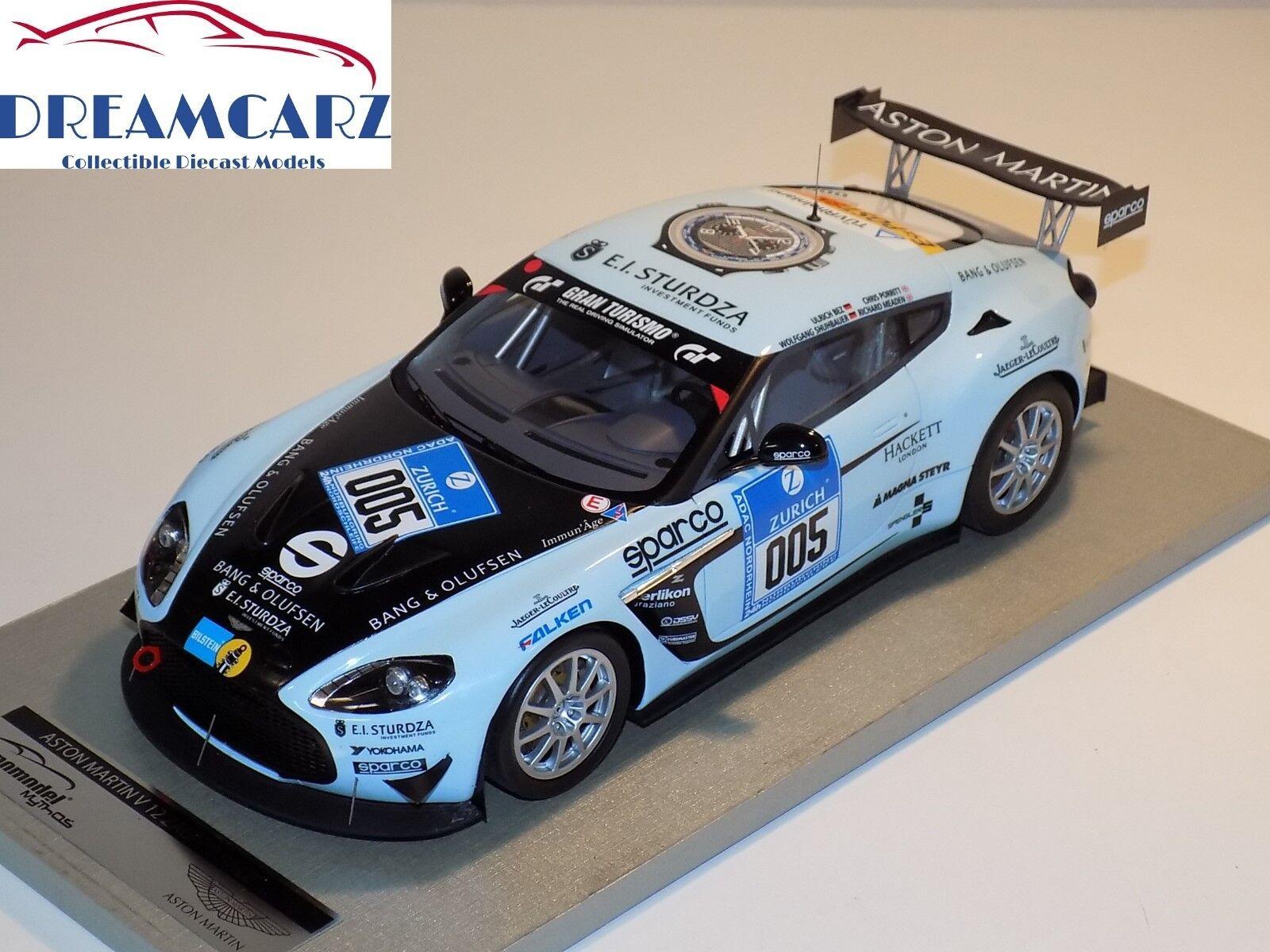 TECNOMODEL 1 18 TM1801H Aston Martin V12 Zagato Limited 200 pcs