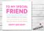 Funny-Best-Friend-Birthday-Card-Bestie-Joke-Best-Friends-Gift-Gin-Rude-Sarcastic thumbnail 3