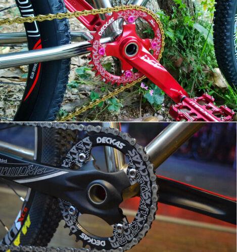 US 104BCD 32T~52T Bike Chainring MTB Single Speed Narrow Wide Chainwheel Bolts