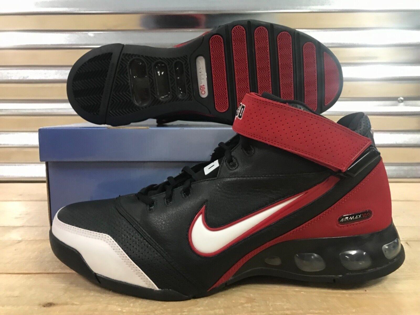 Nike Air Max 180 Zach Randolph PE shoes Z-Bo Promo Sample Black Red White SZ 15
