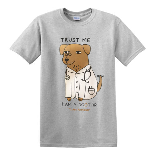 TRUST ME I AM A DOCTOR FUNNY T-SHIRT//Joke//Party//Gift//Father day//Xmas//tshirt//Top