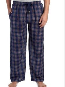 Pyjamas Dependable Geoffrey Beene Homme Bleu Marine à Carreaux Pyjama Pantalon De Détente To Enjoy High Reputation In The International Market