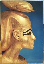 Postcard Egypt THE GODDESS SELKET Gold Egyptian Treasures Tutankhamun Cairo