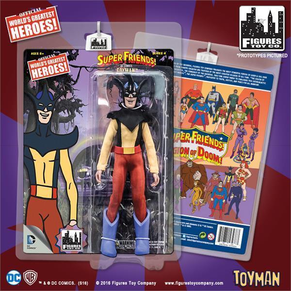 DC Super Friends Legion of doom Retro Styled TOYMAN 8  inch Figure NEW
