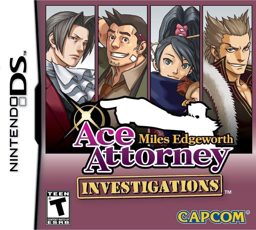 Ace Attorney Investigations: Miles Edgeworth [Nintendo DS DSi, Detective Cases] 1