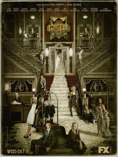 "ghost Murder Season 5 Lady GAGA TV 24/""x32/"" Poster 062 American Horror Story"