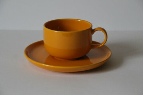 Melitta Heidelberg Jaune Tasse et sous tasse de café TASSE Tasse Couvert