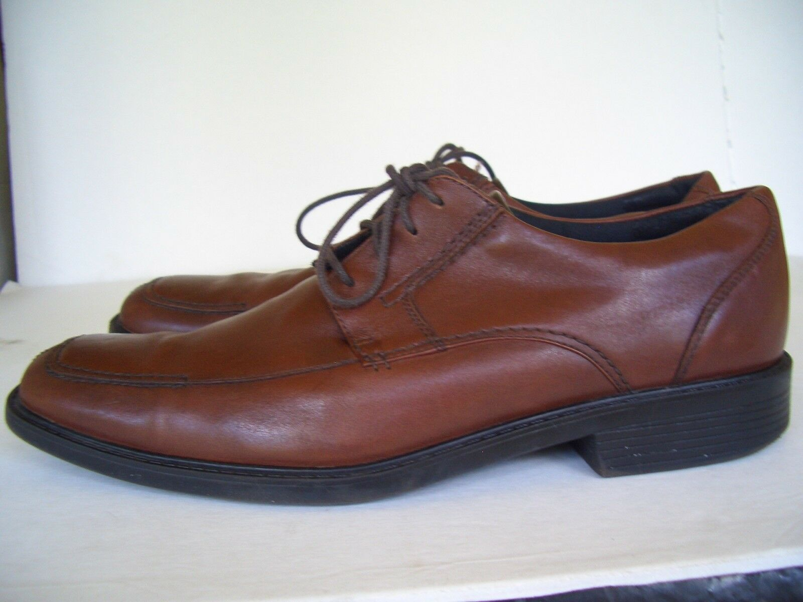 Bostonian Flexlite Mens Size 12 Shoes  Brown Leather Oxfords Shoes 12 26cb72