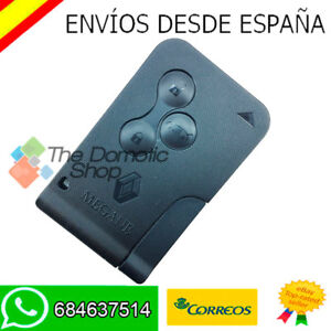 3 botones TARJETA MANDO CARCASA  RENAULT LAGUNA CARCASA LLAVE KEY SHELL CARD