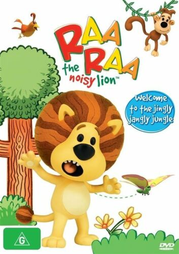 1 of 1 - Raa Raa The Noisy Lion - Welcome To The Jingly Jangly Jungle (DVD, 2012), NEW
