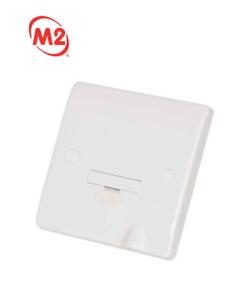 2 x M2 FASTLINE 13 A Interrupteur Fusible Spur Flex Outlet Blanc-M2FL13SUF
