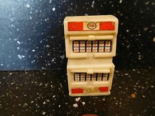 """MODEL ESSO 1 OIL CABINET  1 7/8"""" HIGH WITH ESSO DECALS"""