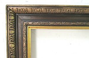 VINTAGE-VICTORIAN-HAND-CARVED-GILDED-WOOD-FRAME-FOR-PAINTING-20-X12-INCH-1-OF2