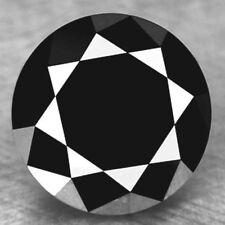 Gia Certified 1.17ct Loose Jet Black Diamond
