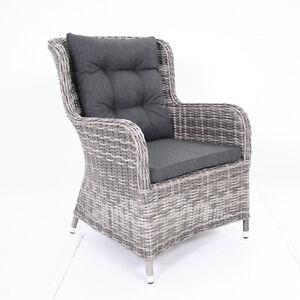 Salvador Gartensessel Gartenmobel Korbsessel Polyrattan Sessel Stuhl
