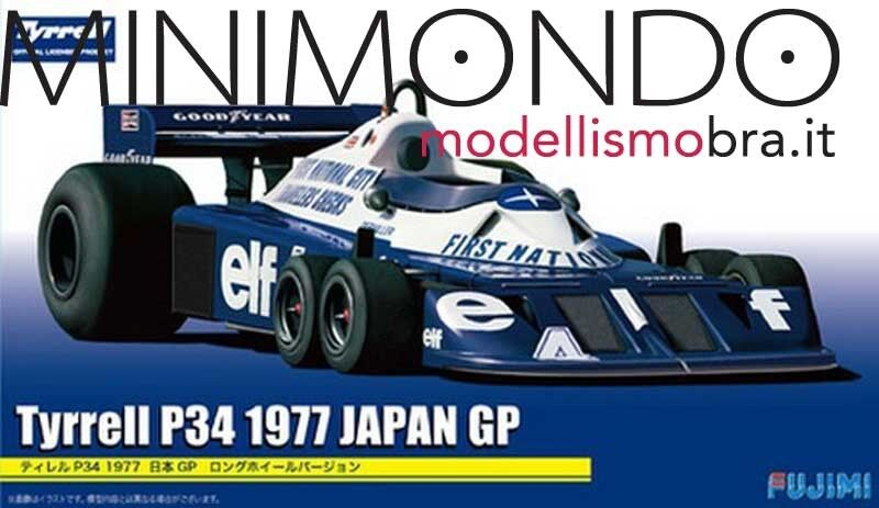 KIT TYRRELL FORD P34 1977 JAPAN GP 1 20 FUJIMI GP17 09205 092058