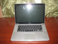 "Apple MacBook Pro A1286 15.4"" Laptop MB470LL 2008 Core 2 Duo 2.4ghz 4gb As Is"