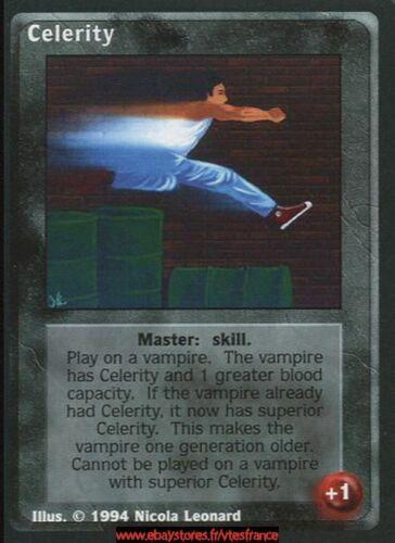 VTES V:TES Jyhad Master Celerity x4