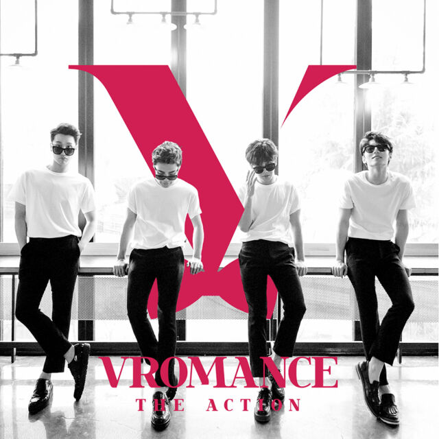 VROMANCE - The Action (1st Mini Album) K-POP KPOP