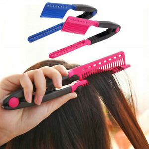 Magic-Hair-Straightener-Comb-V-Type-DIY-Salon-Hairdressing-Styling-Tool-Comb