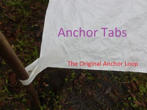 Tarp X 5ft DuPont Tyvek Ground Sheet Tent Footprint w// 8 Anchor Loops 9ft