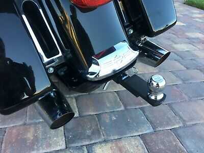 Trailer Tow Hitch Receiver For Harley Touring Road King Electra Road Glide FLHT