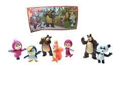 Masha & The Bear Kinder Surprise Egg Toys Complete Set BPZ 2017 Mexico Very Rare