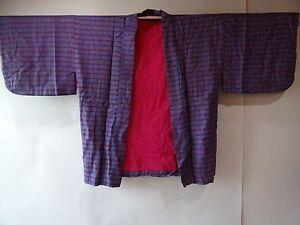 Japanese Kimono Haori jacket Wool h1107