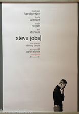 Cinema Poster: STEVE JOBS 2015 (Adv One Sheet) Michael Fassbender Kate Winslet