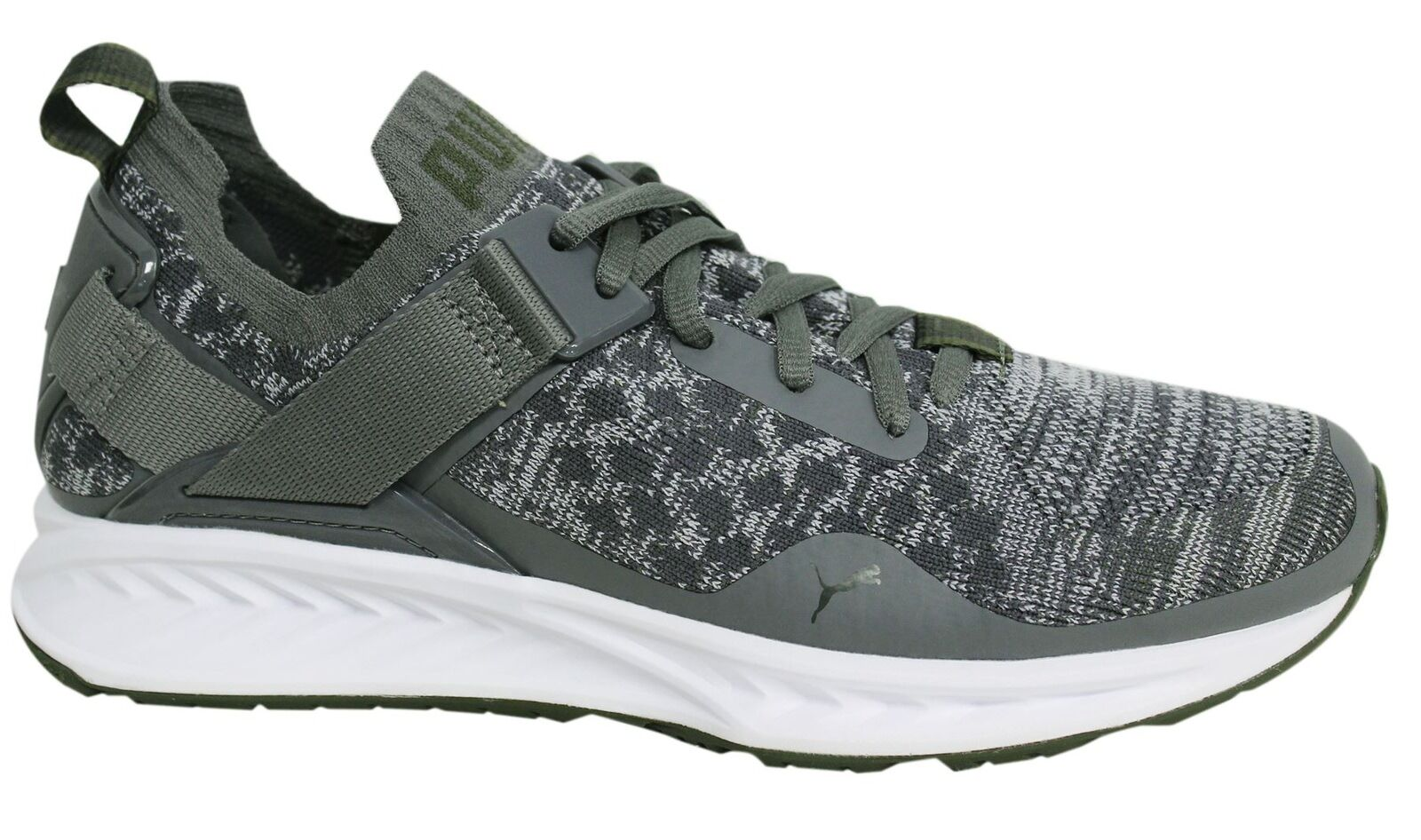 Puma Ignite evoKNIT Lo Lace Up Mens Grey Textile Trainers 189904 07 D111 Cheap women's shoes women's shoes