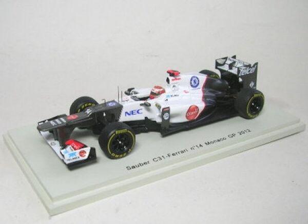 Sauber c31 n. 14 Kamoi Kobayashi Monaco GP 2012