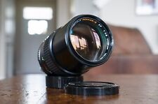 Minolta MC Tele Rokkor-X 135mm F2.8 Manual Focus Prime Lens - Fast Ship from US