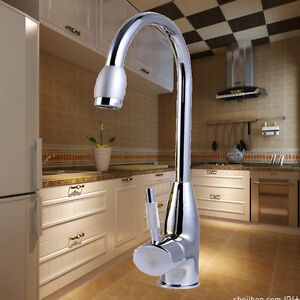 Wash Basin For Kitchen : ... Plated Water Taps Basin Kitchen Wash Basin Faucet With Hot&Cold eBay