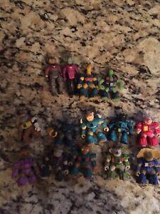 Lot-of-Battle-Beasts-no-weapons-Hasbro-Takara