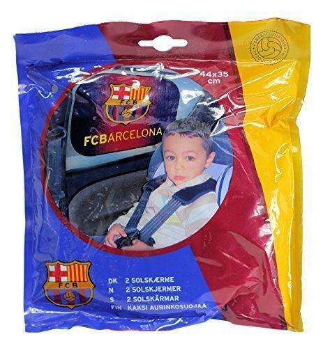 FC Barcelona Football Club Childrens Car Window Sun Shade Protector Pack of 2