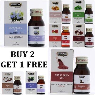 Hemani 100% Natural Pure Essential Oils 30 ml Herbal HALAL
