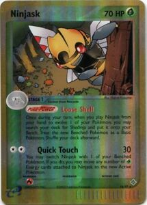 18//97 EX Drache Rare DE NM Pokemon Ninjask