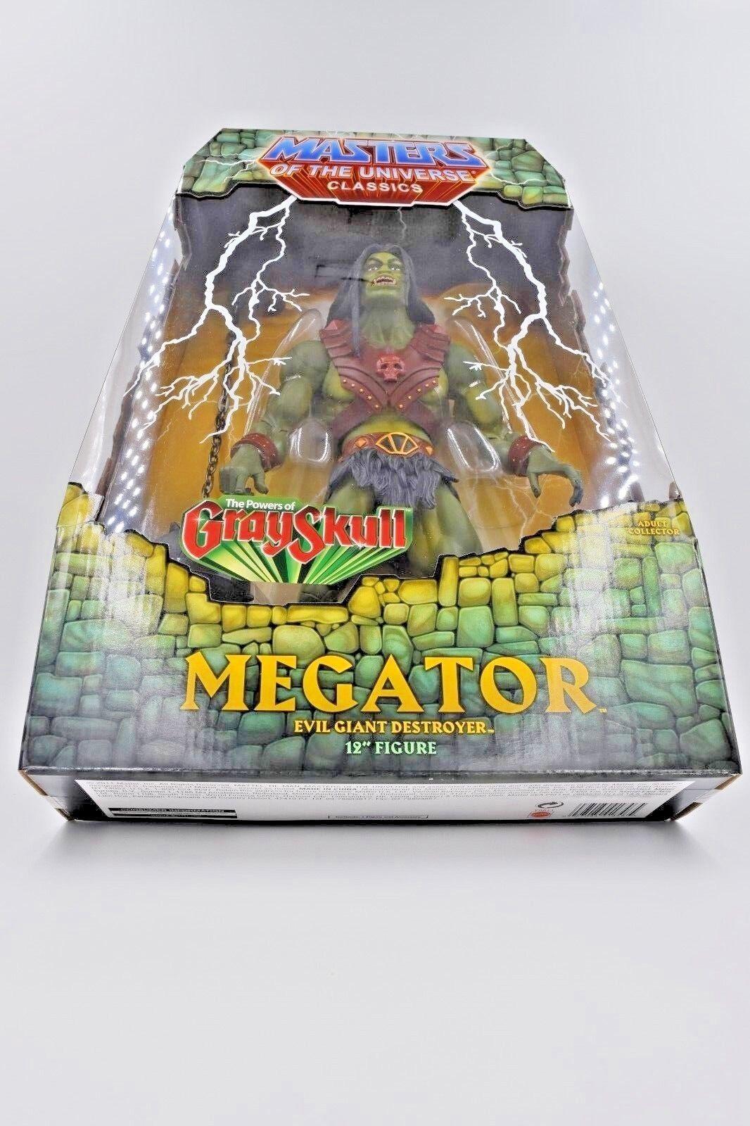 Masters of the Universe Universe Universe Classics Megator MISB with Mailer MOTUC MOTU HeMan SheRa e31090