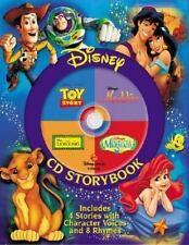 Disney CD The Lion King, the Little Mermaid, Toy Story, Aladdin: Disney Cd Stor