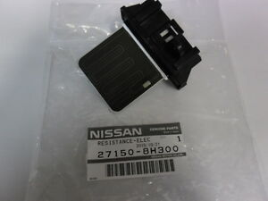 new genuine nissan x trail t30 heater fan resistor manual. Black Bedroom Furniture Sets. Home Design Ideas