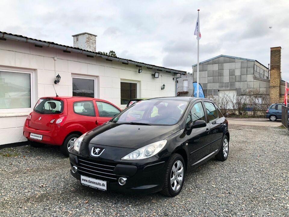 Peugeot 307 1,6 T6 Benzin modelår 2006 km 264000 Sortmetal