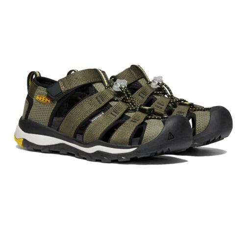 Keen Jungen Newport Neo H2 Wanderschuhe Trekking Outdoor Schuhe Sandalen Grün