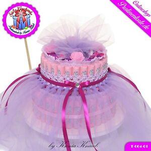 Süßigkeiten Pralinen Torte Lilatütü Süßes Geschenk Für Mädchen
